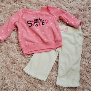 Little Sister Sweat Outfit